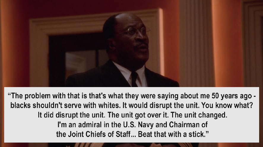 West wing quotes bartlet homosexuality in japan