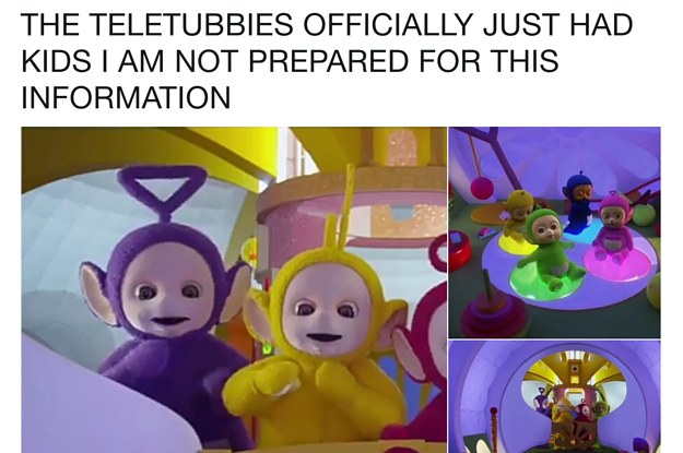 The Teletubbies May Have Had Babies Together And Now Everyones