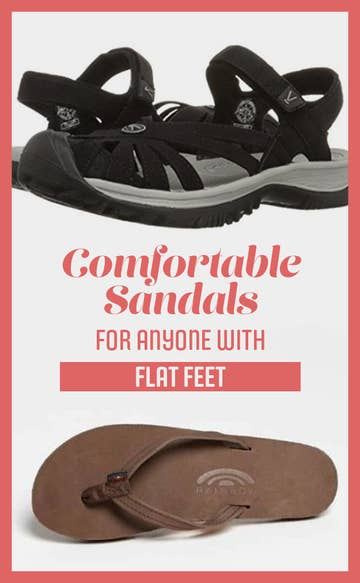 dbc625ecd8f105 21 Ridiculously Comfortable Sandals For Anyone With Flat Feet