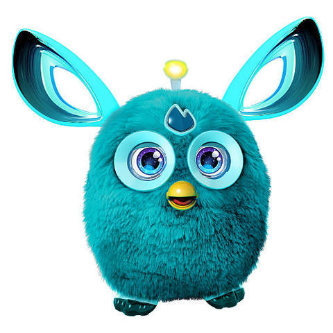 And here's Furby's fab modern makeover: