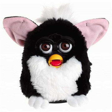 Speaking of sometimes annoying, but truly lovable little fucks, here's what you remember Furby looking like: