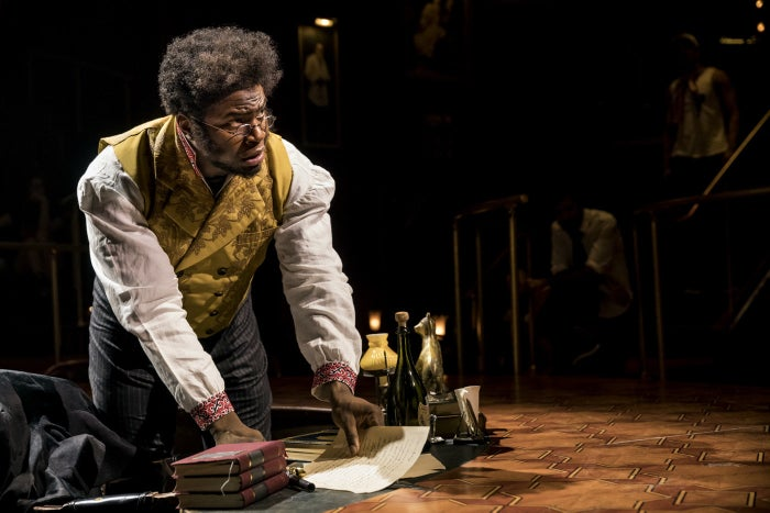 Onaodowan is best known for his role as Hercules Mulligan in the original Broadway cast of Hamilton. He joined Great Comet as Pierre on July 11, taking over for original star Josh Groban. Onaodowan's run was originally scheduled to end Sept. 3.
