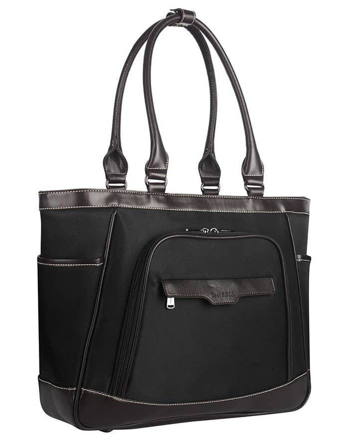 a79f25163e A sophisticated tote so you can look professional while hauling half your  life.
