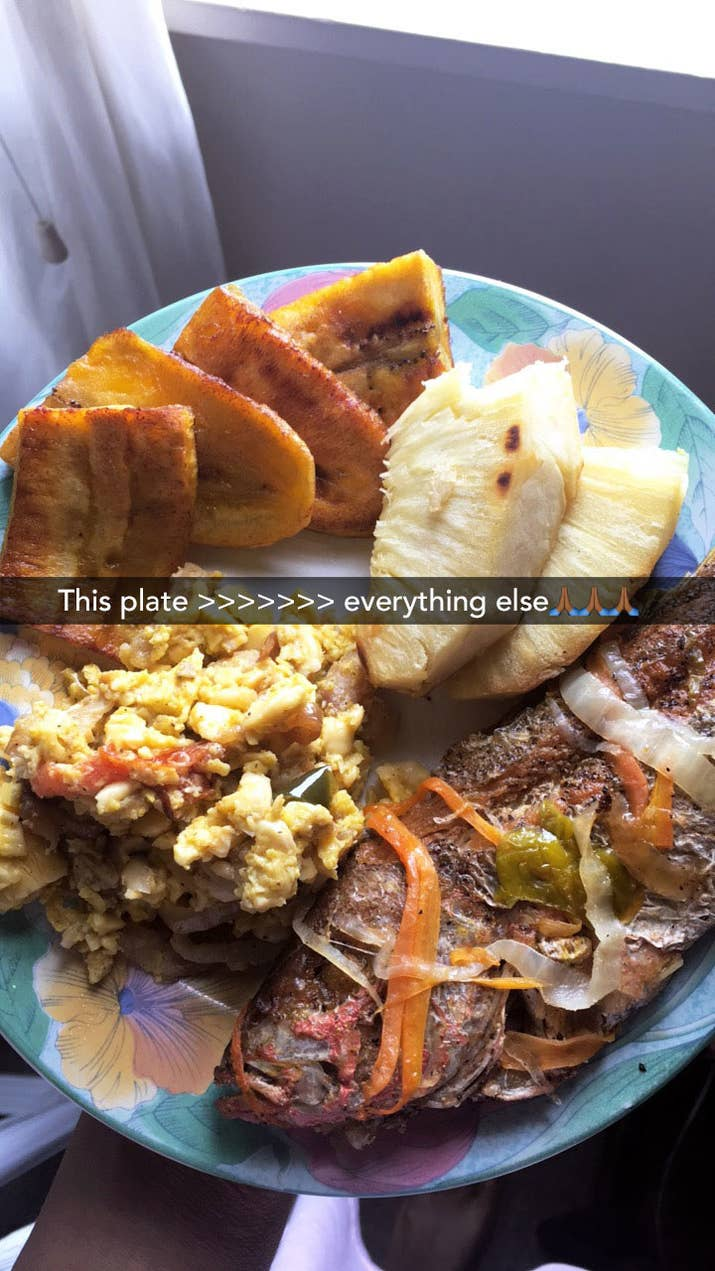 21 classic jamaican dishes youve probably never had before i grew up eating jamaican food on the regular heres a plate of some jamaican staples fried plantain roasted breadfruit and escovitch fish my grandma forumfinder Gallery