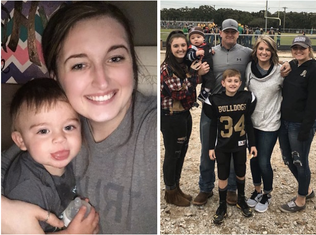 This is 21-year-old Blaine Hamilton and the entire Hamilton clan of six from Alvord, Texas. A little over a year ago, they welcomed baby Coleman into the family. They're now in the process of formalizing his adoption.