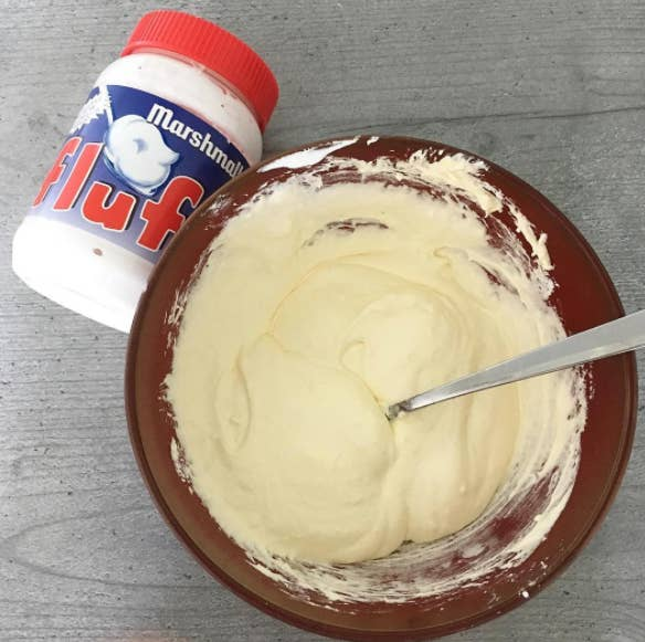 Add some peanut butter and bread and you've got a Fluffernutter!