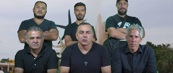 Carlos Mimenza in one of his anti-corruption videos
