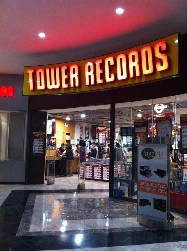 La de Altavista era LA tienda de discos del sur (aunque también era la más cara).