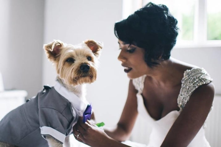 """Alfie is a huge part of our lives and there was never a decision made to have him as our ring bearer. He was the only choice. He's such a great part of our relationship and we wanted to have him involved in our family's big day,"" Atcheson told BuzzFeed."