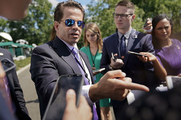 "Thumbnail for Anthony Scaramucci Goes On Shocking Rant, Threatens To ""Kill"" White House Leakers"