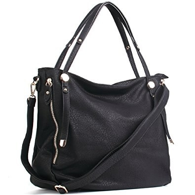 A leather shoulder bag that can fit everything from your laptop to planners. 57d1b23d3f4f4
