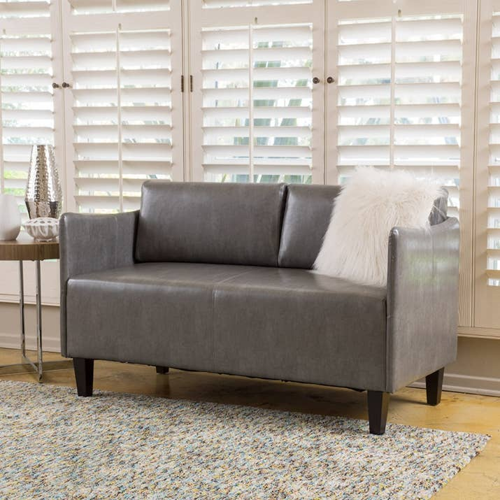 "Promising Review: ""Love this couch; I put it in my sunroom, and it fits perfectly."" —kristen allenPrice: $199.99+ (available in five colors)"