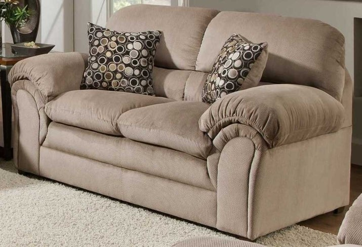 "Promising Review: ""This is a great sofa. It's soft and comfortable. We haven't had it very long yet, but at this stage it's perfect."" —NicolePrice: $552.34"