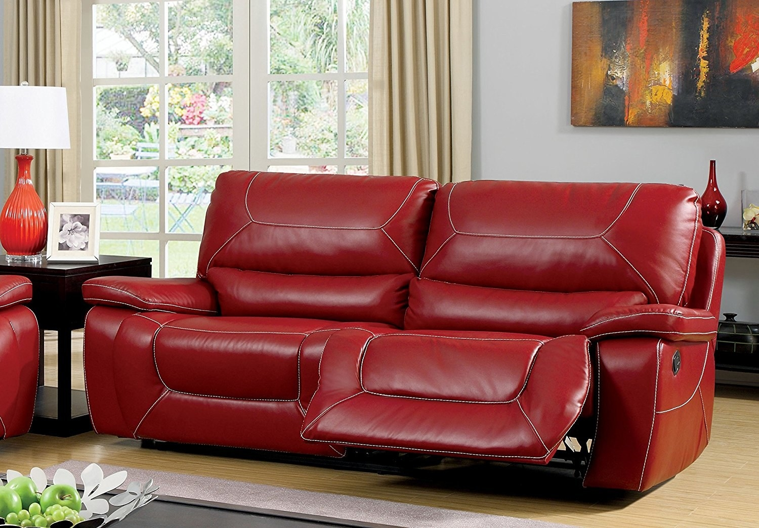 21. A Recliner For Those Who Are A Little More Daring With Their  HGTV Looks. This Is A Really Cool Couch, You Should Go For It.