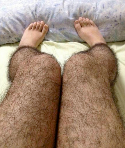 We don't care if you haven't shaved.