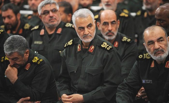 Iranian Quds Force commander Qassem Suleimani, September 18, 2016.