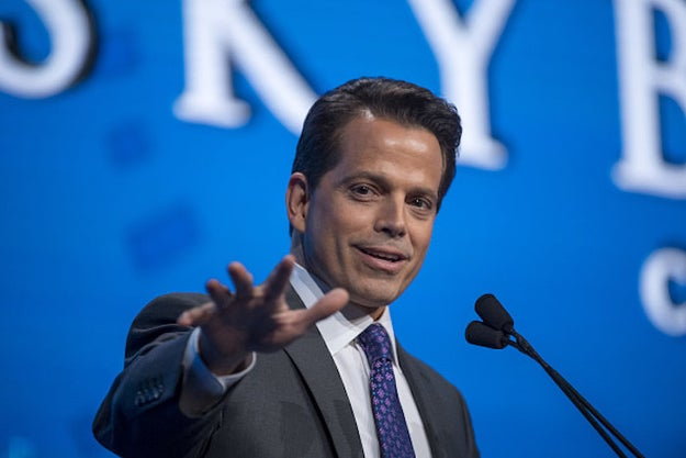 """Before Anthony """"The Mooch"""" Scaramucci was director of communications at the White House, he had a burgeoning producing career in Hollywood."""