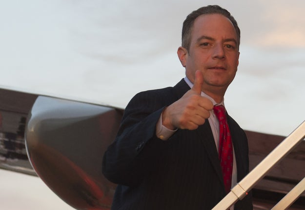 This is Reince Priebus, the former White House Chief of Staff.
