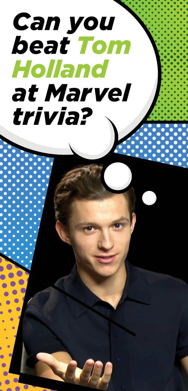 Can You Score Higher Than Tom Holland On This Marvel Movie Quiz?