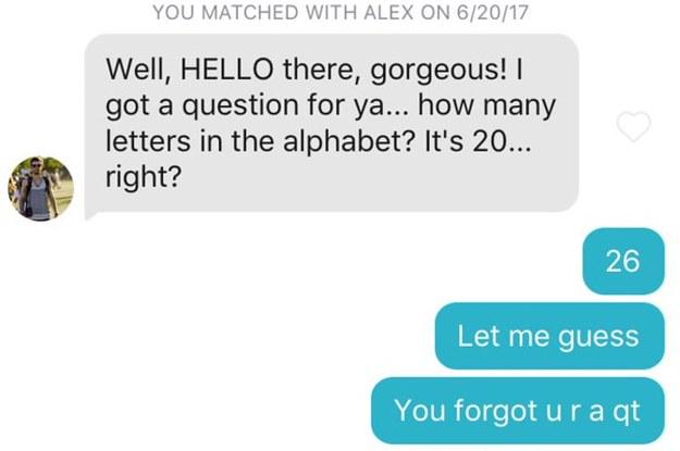 Bästa isbrytare för online dating