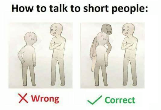 16 Tips For Talking To Short People That You Didn't Know ...