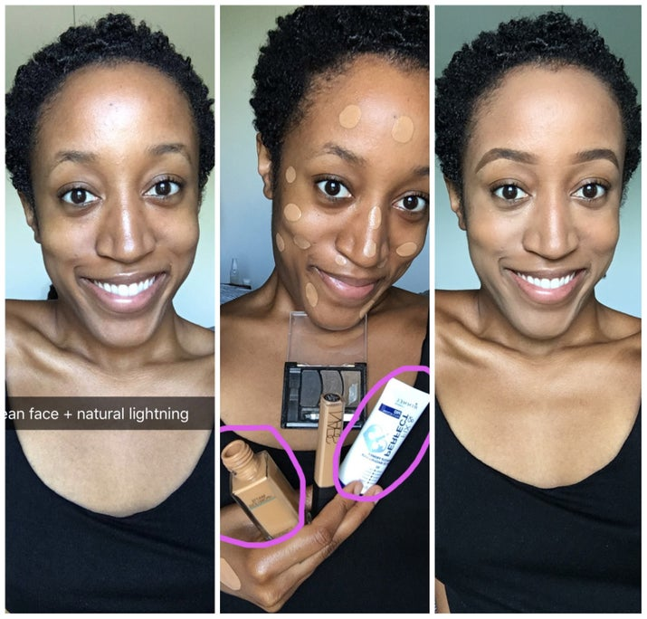 So I've heard primers fill in fine lines, smooth out pores, and even out your complexion for a fresh faced look. Personally, I've never felt the need to add yet another product to my daily 5-step routine. I'm what you might call a low-maintenance (i.e. lazy) makeup gal. But when BuzzFeed user adw1234 said that she literally couldn't live without Rimmel's Fix & Perfect Pro Primer, I decided to start wearing it under my Maybelline FIT Me Matte foundation. Final verdict? Believe the hype, folks! This primer + foundation combo really does help me achieve a flawless matte, yet still dewy, finish that lasts from A.M. to P.M. Welcome to my daily routine, primer ;-)Get the foundation for $5.69 and the primer for $7.59 at Amazon.