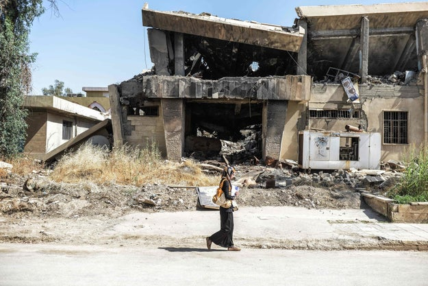 When ISIS took control of Mosul and declared its caliphate in 2014, militants ransacked the city's university then burned down its library, destroying hundreds of thousands of books and manuscripts.