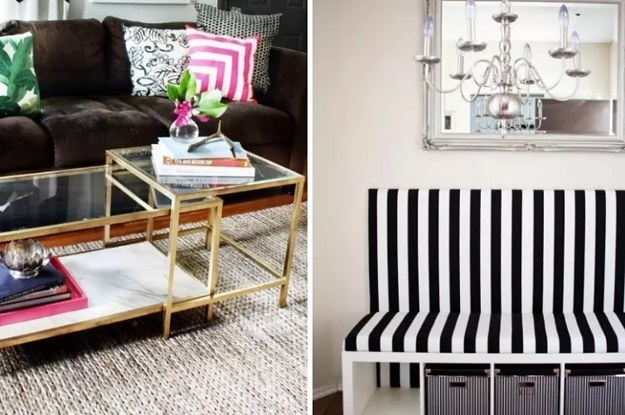 27 stilvolle Ikea-Hacks, die dein Zuhause total fancy ...