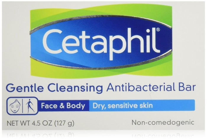 """""""Antibacterial Cetaphil has cleared up the acne on my face and my upper back!! I swear by it."""" —haileymeredithmGet a six-pack from Amazon for $19.98."""