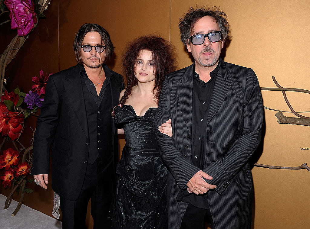 the burtons and johnny depp