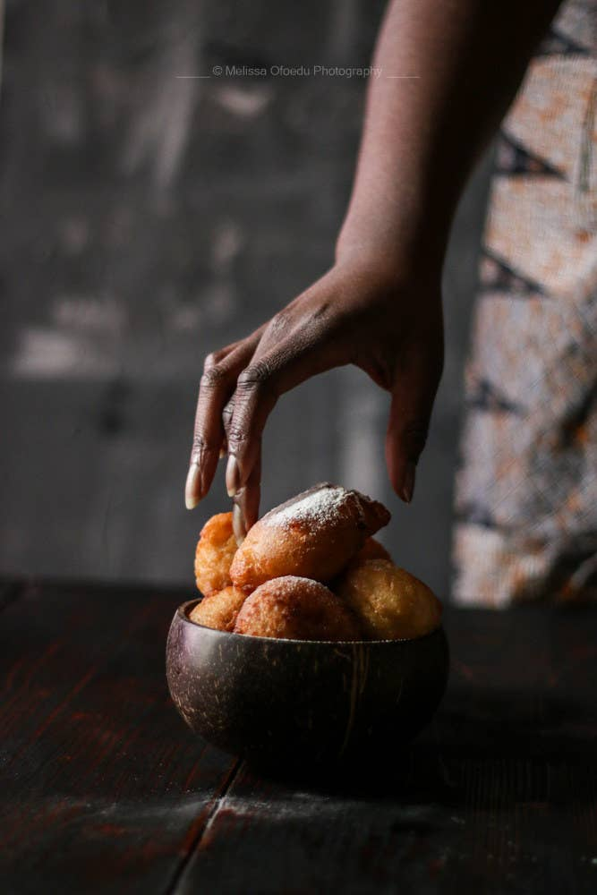 Feel like a yeasted doughnut... well look no further that west African drop doughnuts, Puff puff