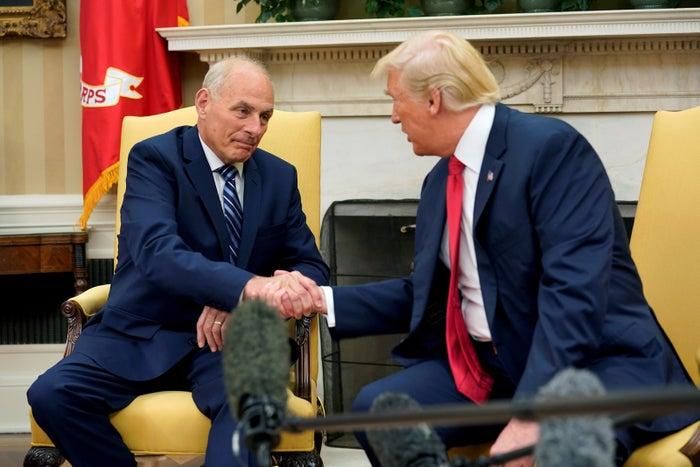 John Kelly and Trump