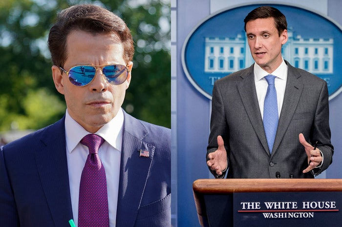 Anthony Scaramucci and Tom Bossert.