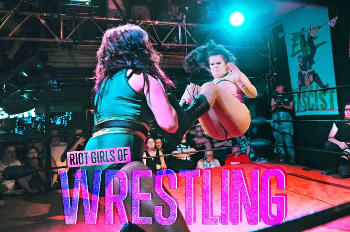 In the wake of the popularity of Netflix series GLOW, which tells the story of the formation of a female wrestling group in the 1980s, BuzzFeed News set out to discover what the real world of women's wrestling was like.