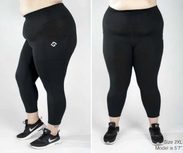 6752cafc66def I Tried Six Pairs Of Plus-Size Workout Leggings To Find The Best Ones
