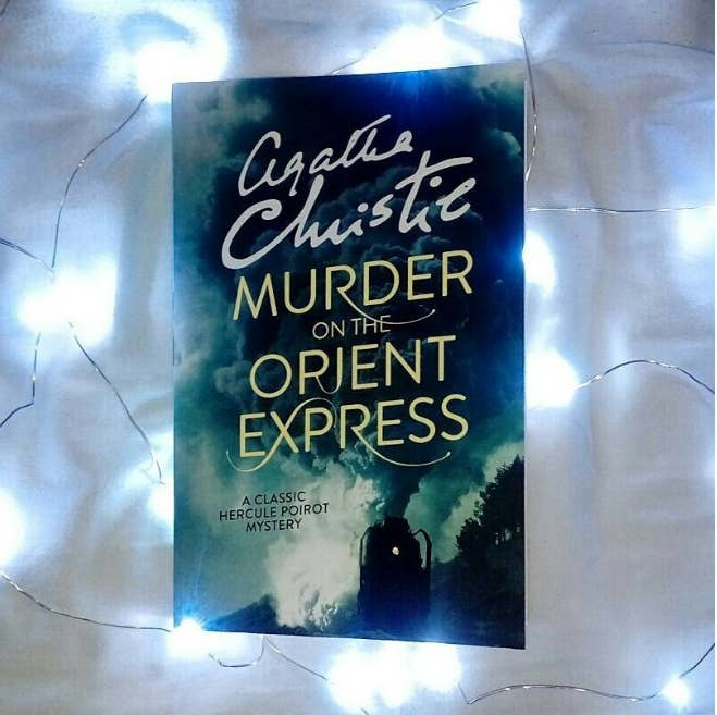 """""""[I pick] Murder on the Orient Express by Agatha Christie. It's one of her greatest mystery novels and is being turned into a film this year. Private detective Hercule Poirot is on the Orient Express, which is stopped in the middle of the night by snow. The next morning — one of the many passengers — an American tycoon is found murdered in his cabin, with the door locked from the inside. Stuck in the middle of nowhere, and travelling with a murderer, Poirot has to find the killer before he — or she — strikes again."""" —enchanted-dreamerGet this from Amazon for $7."""