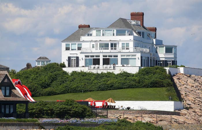 ^The huge-ass mansion where the party happens every year in Rhode Island.