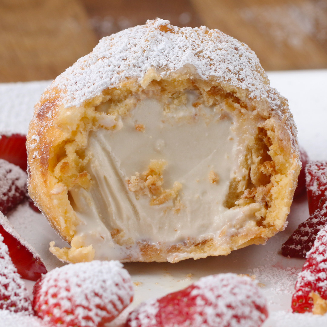 We Figured Out The Best Way To Make Fried Ice Cream So You Don't Have To