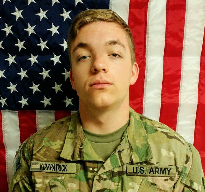 Pfc. Hansen Bradee Kirkpatrick, of Wasilla, Alaska, was killed July 3 in Afghanistan.