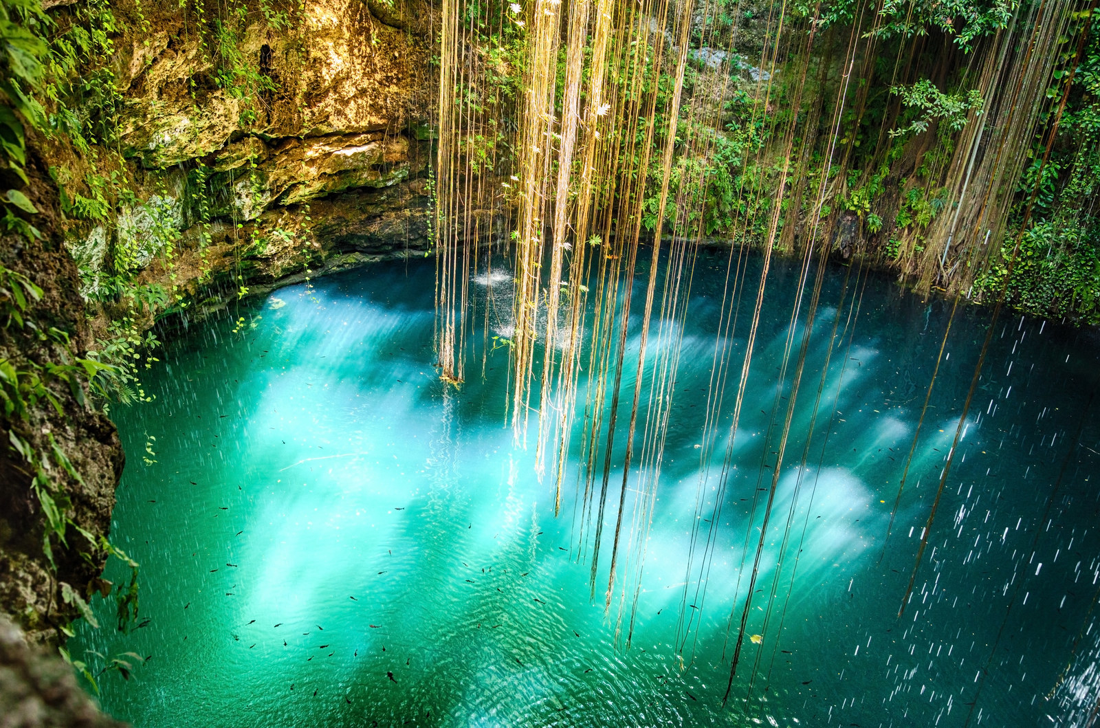 19 natural pools around the world that 39 ll make your jaw drop Chichen itza mexico natural swimming pool