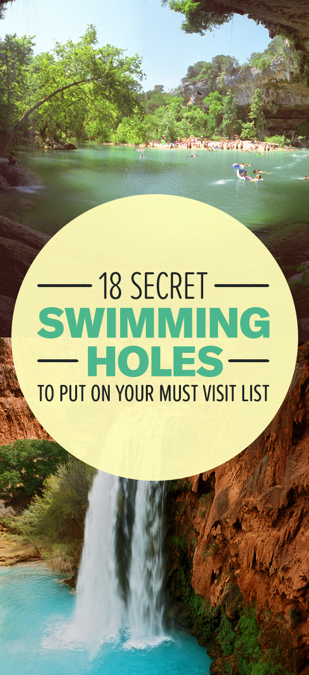19 Natural Pools Around The World That'll Make Your Jaw Drop
