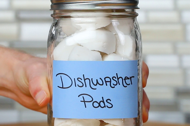 Save Money And Plastic With These DIY Dishwasher Detergent