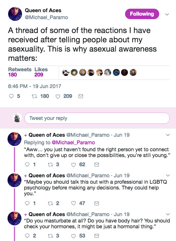 Aromantic asexual marriage