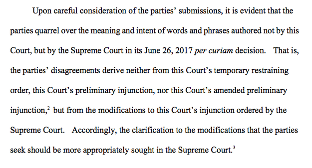 The key part of Thursday's ruling: