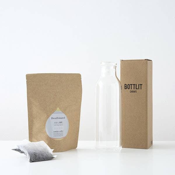 カフェインレス水出しコーヒー(12バッグ)&KINTOボトルギフトセット