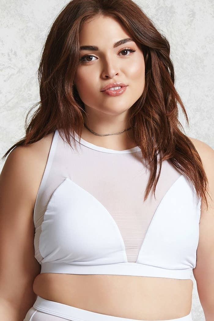 44192e37717 A mesh bikini top perfect for those who want a sexy, stylish swimsuit, plus  it also provides support.
