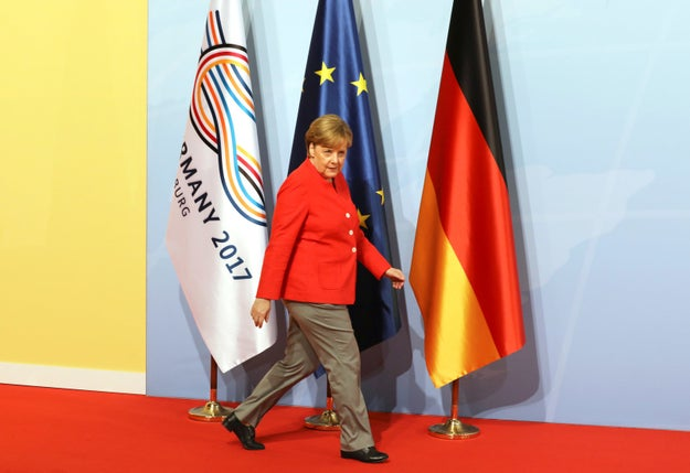 German Chancellor Angela Merkel is currently hosting world leaders for the G20 conference in Hamburg.