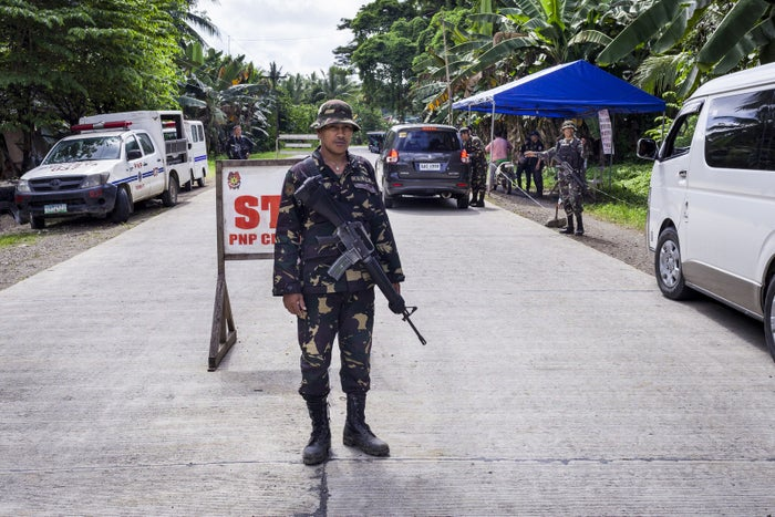 Security in cities across Mindanao is tight since Duterte implemented martial law.