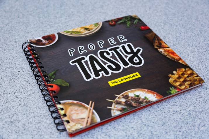 Oh yes you can finally buy the proper tasty cookbook in the uk what are you waiting for buy your copy on amazon now forumfinder Choice Image