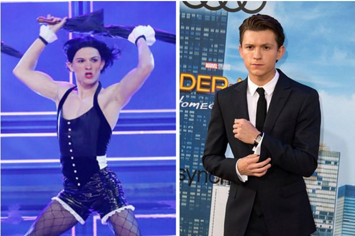 Tom Holland Regrets Not Wearing Heels For